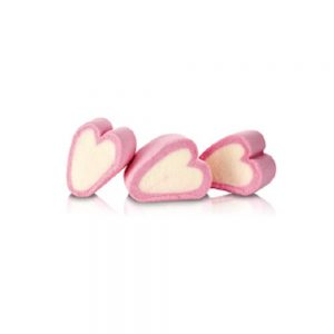 Marshmallow καρδούλα διπλή Χατζηγιαννάκης