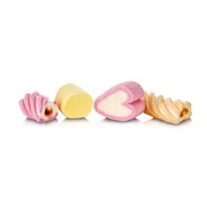 Marshmallow ανάμικτα σχήματα πολύχρωμα Χατζηγιαννάκης