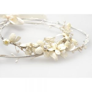 Χειροποίητα Στέφανα Γάμου Μαργαρίτες Λουλούδια