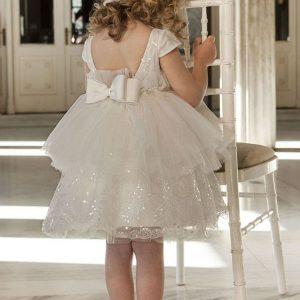 Βαπτιστικό φόρεμα αποσπώμενη φούστα 6038-1 Dolce Bambini